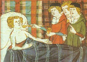 Středověká medicína nebyla zdaleka tak zaostalá jak si myslíváme. Repro: Pinterest
