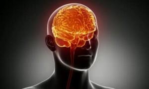 stlačený mozek