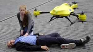 Dron by měl být u pacientů se zástavou srdce do minuty. Foto: Start-up.cz