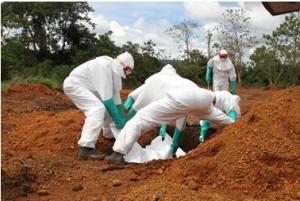 Personál ebolových špitálů se kvůli nevyplaceným mzdám pustil do stávky. Foto: Ifri.com