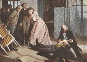 Novela Utrpení mladého Werthera udělala ze sebevraždy na sklonku osmnáctého století módní záležitost. Ilustrace: Archiv autora