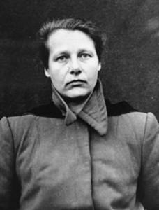 Herta Oberheuserová byla jedinou ženou mezi souzenými v norimberském procesu s lékaři. Její experimenty byly nejkrutější. Foto: Wkipedia