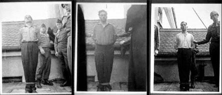 Popravy nacistických lékařů v bavorské pevnosti Landsberg. Foto: archiv autora