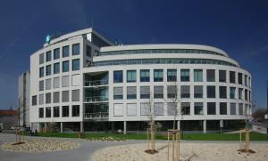 Budova na pražském Smíchově je postavena tak, aby nezatěžovala životní prostředí. Foto: MSD