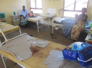 Pediatrické oddělení nemocnice v Africe se tomu českému moc nepodobá. Brát do exotických zemí malé děti je také proto velmi špatný nápad. Foto: Rastislav Maďar