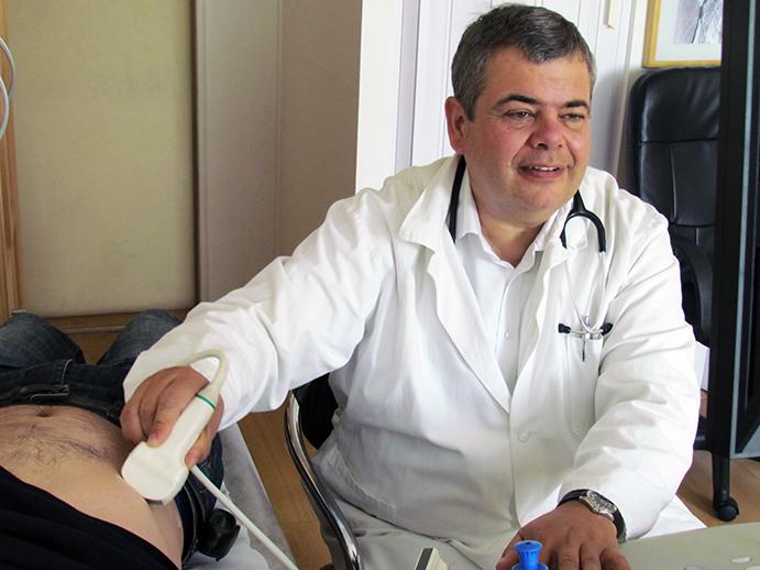 Marek Zeman se teď naplno věnuje  medicíně v ambulanci internisty. Foto: archiv