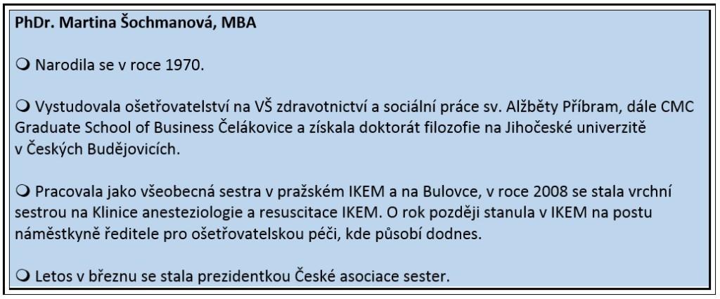 sochmanova info