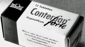 Thalidomid se Evropě prodával pod názvem Contergan.