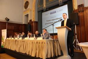 Konferencí provázel Ivo Hartmann, jednatel vydavatelství Media Network
