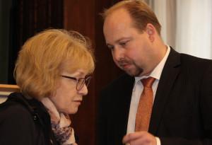 Helena Válková a Jeroným Tejc