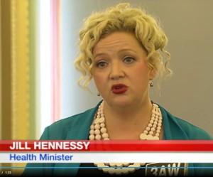 """Očkování zachraňuje životy,"""" prohlásila ministryně zdravotnictví státu Victoria Jill Hennessy"""