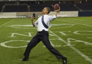 Prezident Obama je sportovně založen... Foto: White House