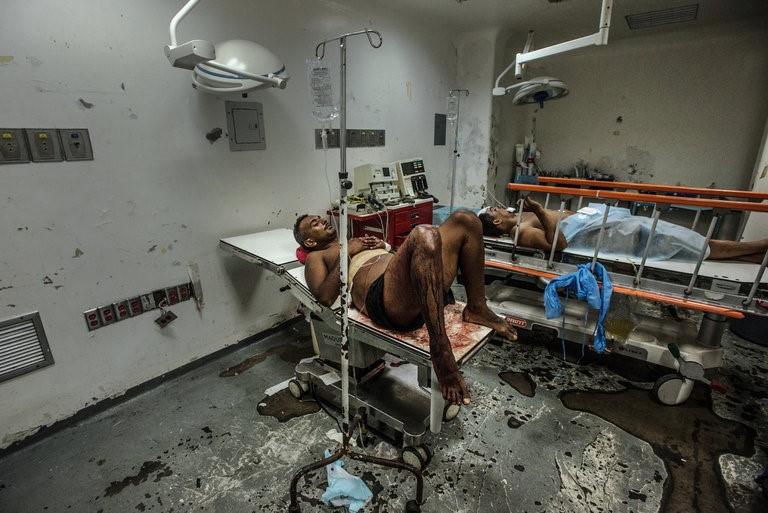 Takto zachytili nemocnici reportéři New York Times