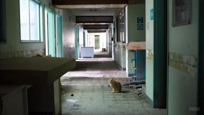 Některé části nemocnic jsou opuštěné.. Foto: YouTube Channel 4 News