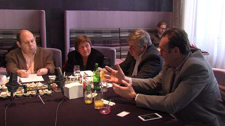 Zprava: Viktor Mravčík, Marek Zeman, prof. Eva Králíková a Tomáš Cikrt
